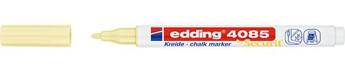 Купить Маркер меловой Edding 4085 1-2 мм с круглым наконечником, желтый, Германия