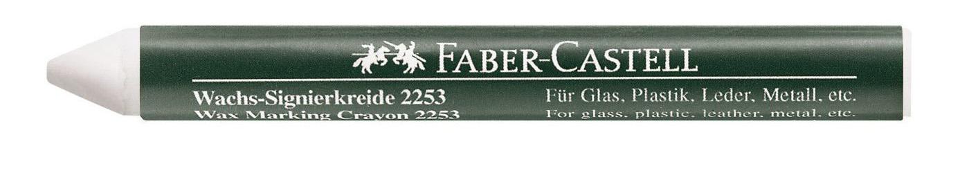 Мелок восковой Faber-castell Белый