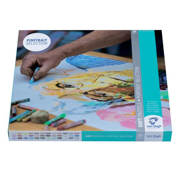 Купить Набор сухой пастели Talens Van Gogh 36 цв в картонной коробке, Royal Talens