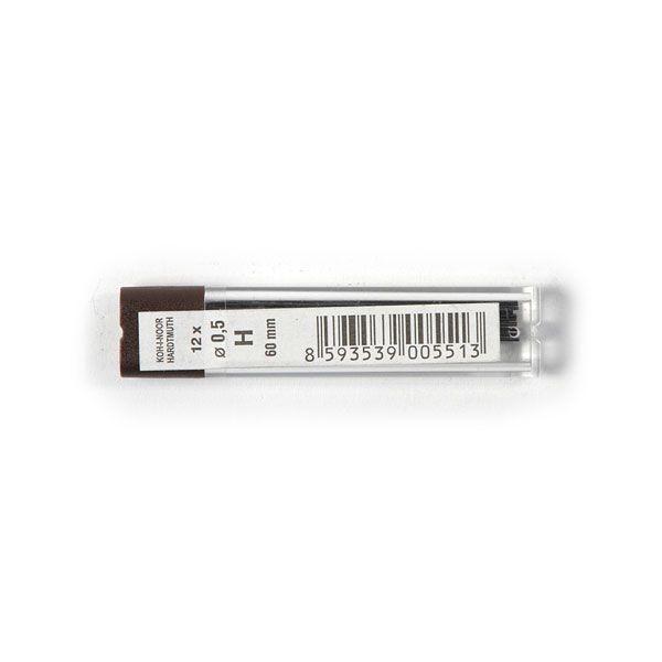 Купить Набор грифелей для механического карандаша Koh-I-Noor 12 шт 0, 5 мм H, KOH–I–NOOR, Чехия