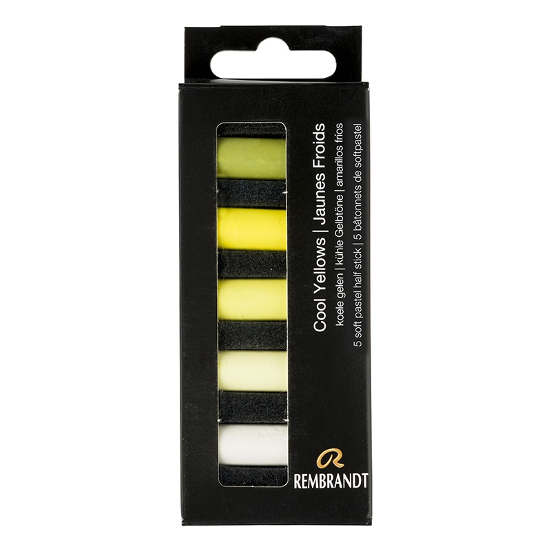 Купить Набор сухой пастели Talens Rembrandt Холодный желтый 5 цв, в картонной коробке, Royal Talens