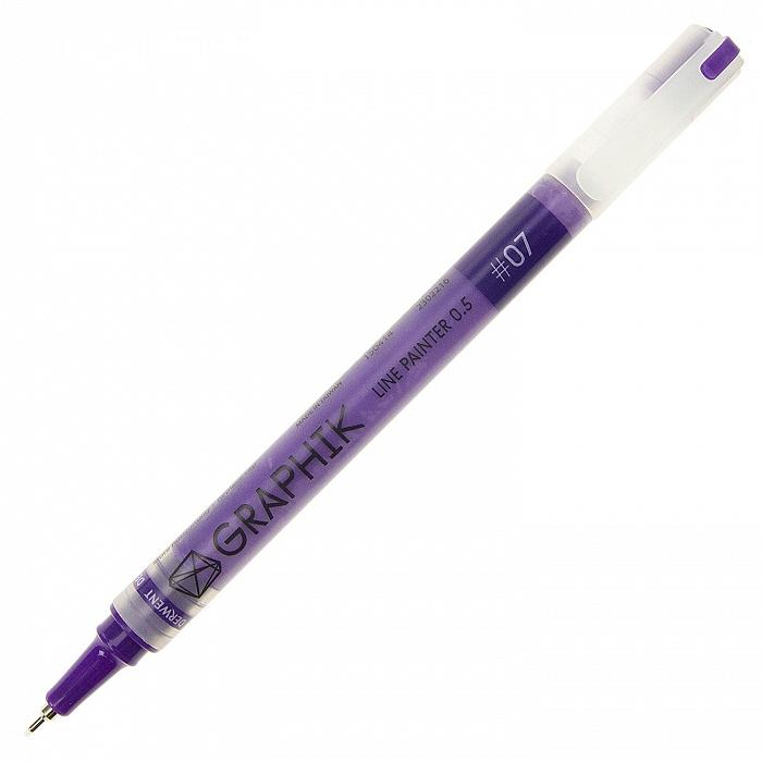 Купить Линер Derwent LINE PAINTER 0, 5 мм Фиолетовый
