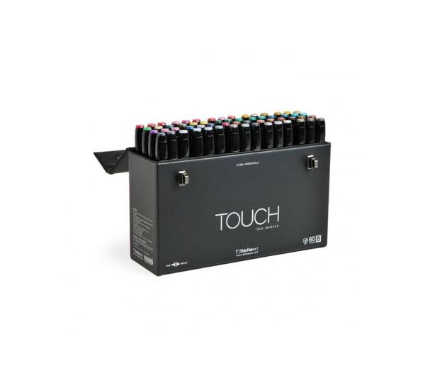 Купить Набор маркеров Touch Twin 60 цв A, ShinHan Art (Touch), Южная Корея
