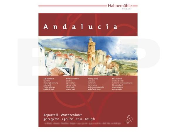 Купить Альбом-склейка для акварели Hahnemuhle Andalucia 30x40 см 12 л 500 г, HAHNEMUHLE FINEART, Германия
