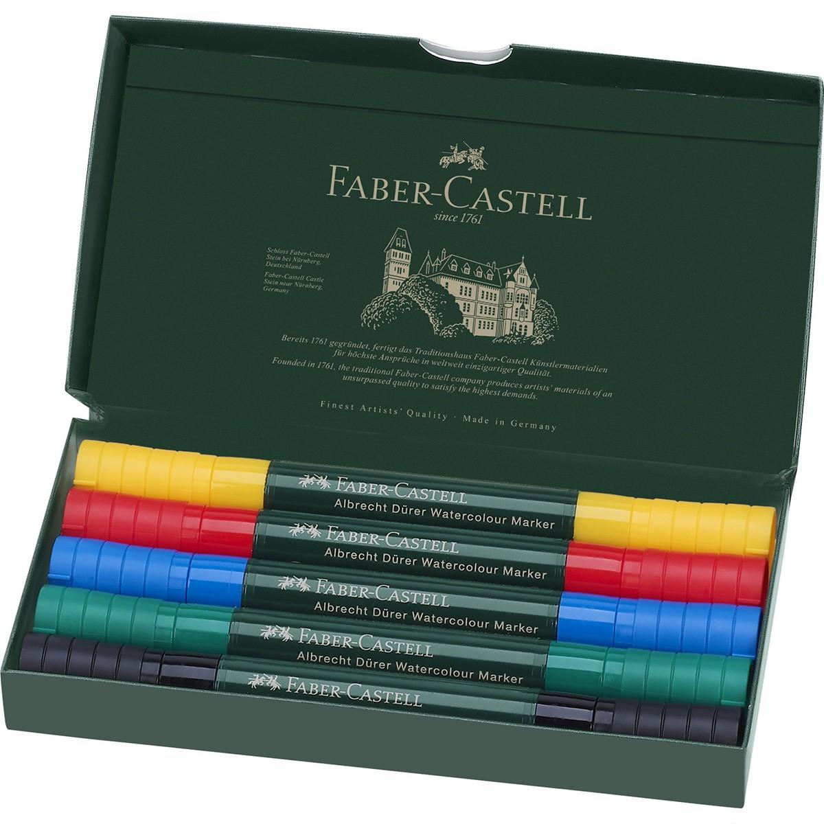 Купить Набор акварельных маркеров Faber-castell Albrecht Durer 5 цв, Faber–Сastell, Германия