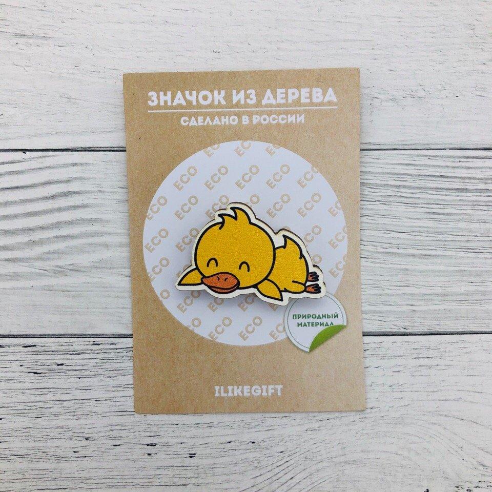 Купить Значок Sleeping Duck , iLikeGift, Китай