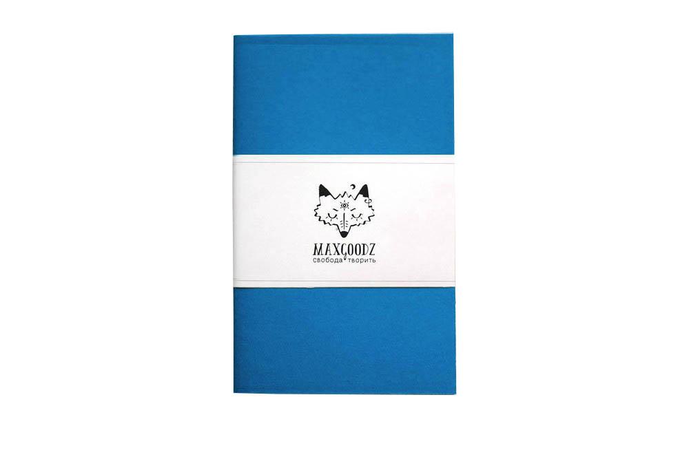 Купить Скетчбук для маркеров Maxgoodz Classic White А5, 32 л, 160 г Бирюзовый, Россия
