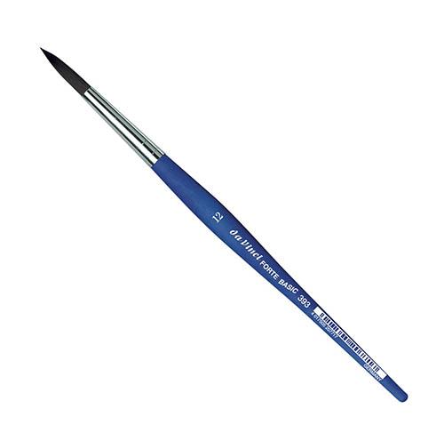 Купить Кисть синтетика №12 круглая Da Vinci 393 короткая ручка, Германия