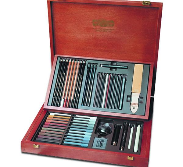 Купить Набор для графики Koh-I-Noor Gioconda Art Set 52 предметов, в деревянной коробке, KOH–I–NOOR, Чехия