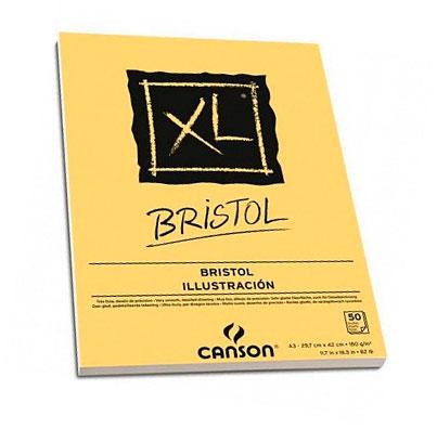 Купить Альбом-склейка для графики Canson XL Bristol 29, 7х42 см 50 л 180 г, Франция