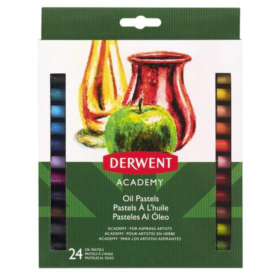 Набор пастели масляной Derwent Academy 24 цв в карт кор  - купить со скидкой