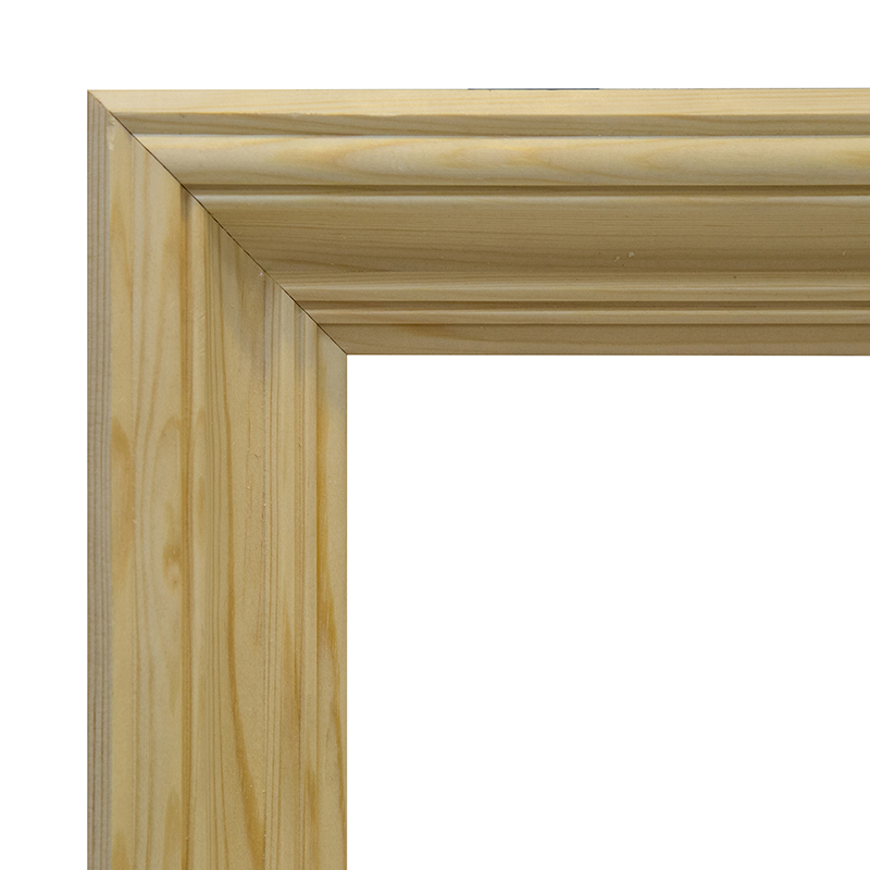 Купить Рама 20х25 см деревянная некрашенная (ширина багета 6, 2 см), Туюкан, Россия