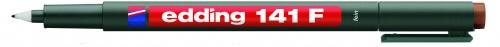 Купить Маркер перманентный Edding 141 0, 6 мм для проекторов, коричневый, Германия