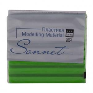 Купить Пластика для запекания Sonnet 56 г Лесной зеленый, Сонет, Россия