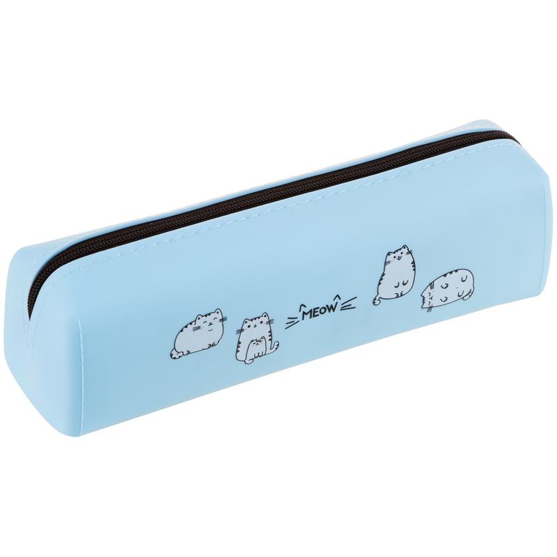 Купить Пенал мягкий ArtSpace Meow 200*60*55 мм, силикон, Россия