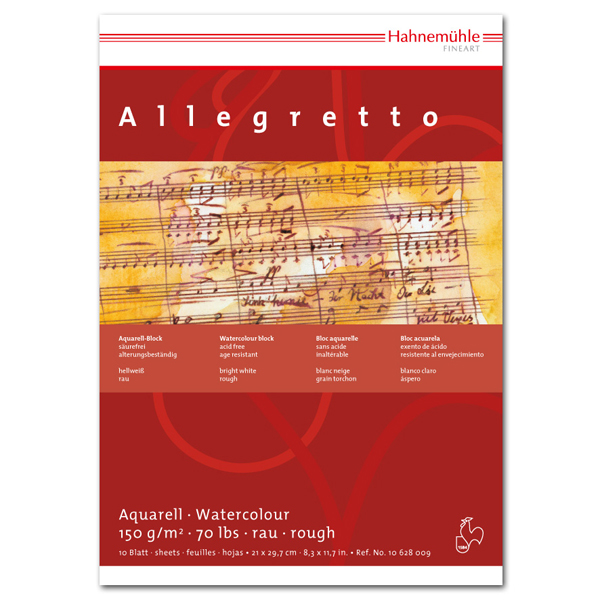 Купить Альбом-склейка для акварели Hahnemuhle Allegretto , HAHNEMUHLE FINEART, Германия