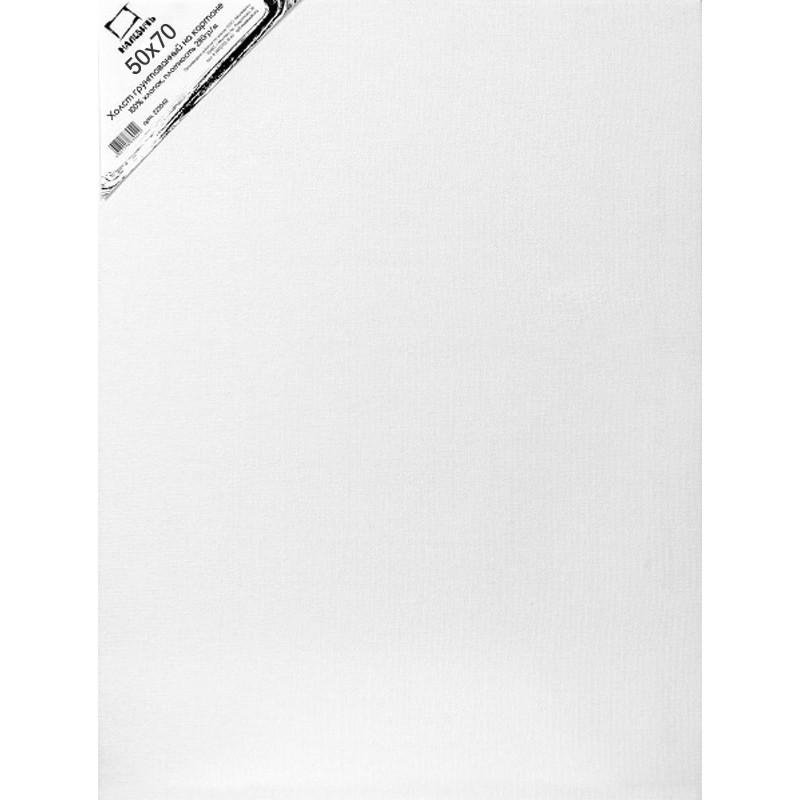 Купить Холст грунтованный на картоне Малевичъ 50x70 см, Россия