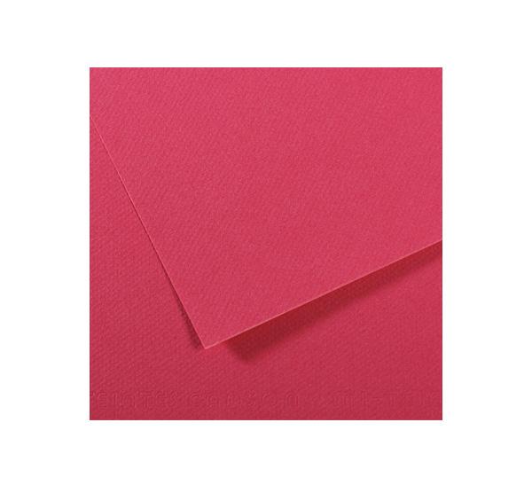 Купить Бумага для пастели Canson MI-TEINTES 50x65 см 160 г №114 малиновый, Франция