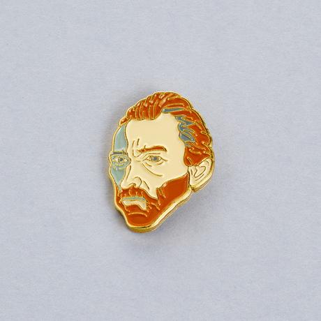 Значок эмалированный Ван Гог, Подписные издания, Россия  - купить со скидкой