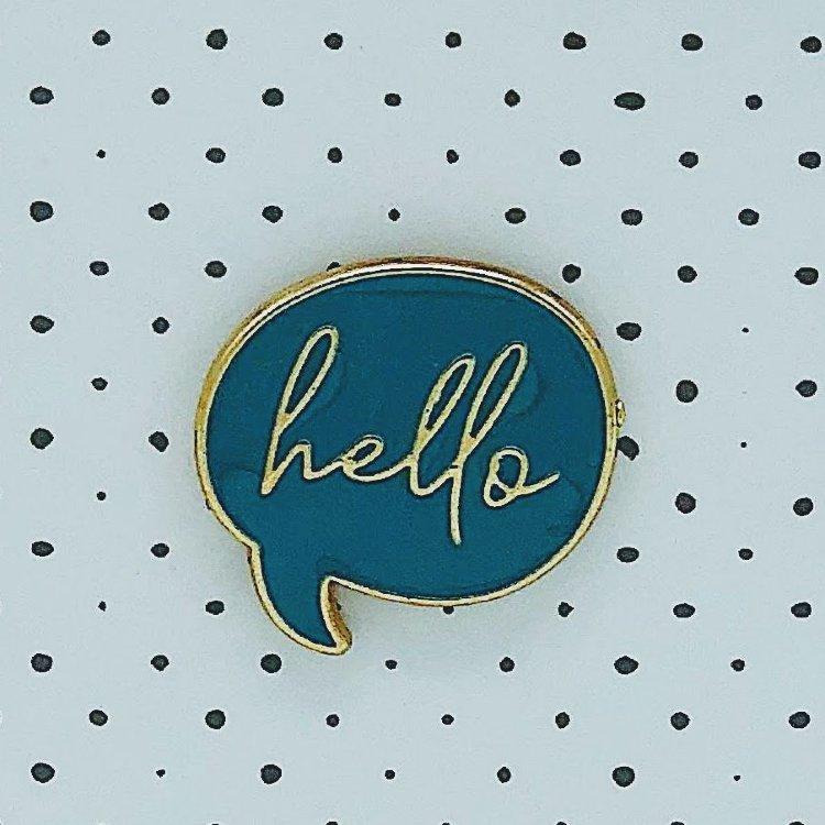 Купить Значок Hello , iLikeGift, Китай