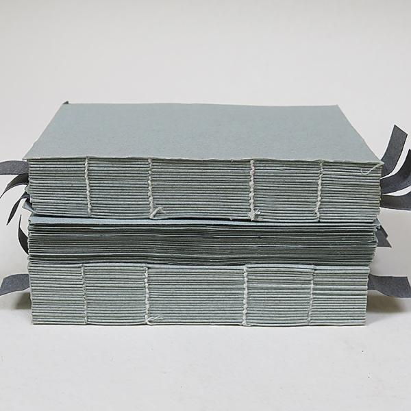 Купить Блок сшитый для акварели KHADI PAPERS 17х12 см 180 л 100 г серый 100% хлопок, мелкозернистая без обл, Индия