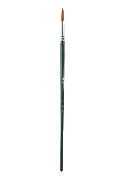 Купить Кисть синтетика №10 круглая Pinax Creative 342 длинная ручка, Китай
