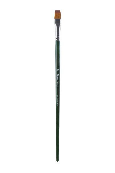 Купить Кисть синтетика №10 плоская Pinax Creative 345 длинная ручка, Китай