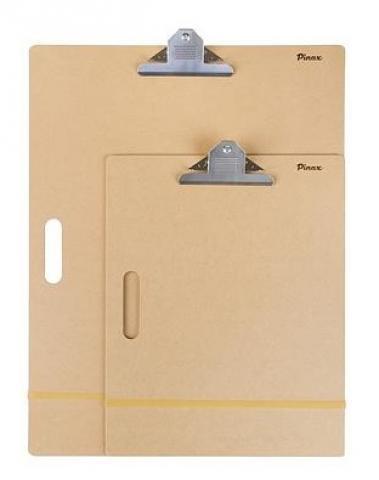 Купить Планшет клипборд 45х45 см с удерживающей резинкой и клипсой, Pinax, Китай