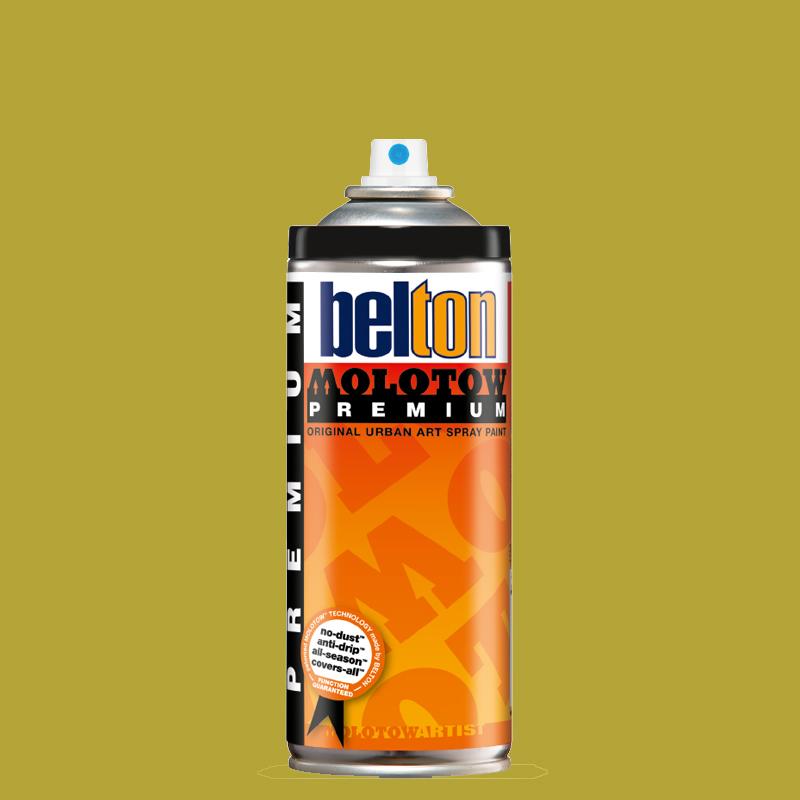 Аэрозольная краска Molotow Premium belton 400 мл #179 hemp, Германия  - купить со скидкой