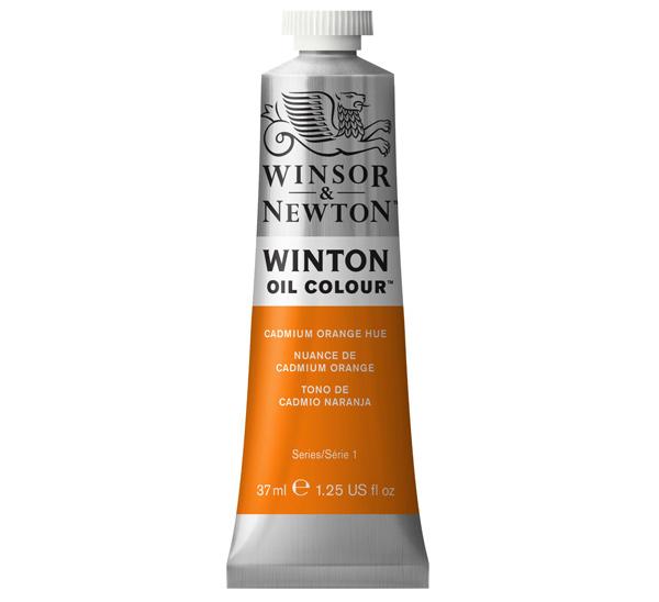 Купить Масло Winsor&Newton WINTON 37 мл оранжевый кадмий, Winsor & Newton