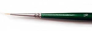 Купить Кисть синтетика №6/0 круглая споттер Pinax Creative 271 короткая ручка, Китай