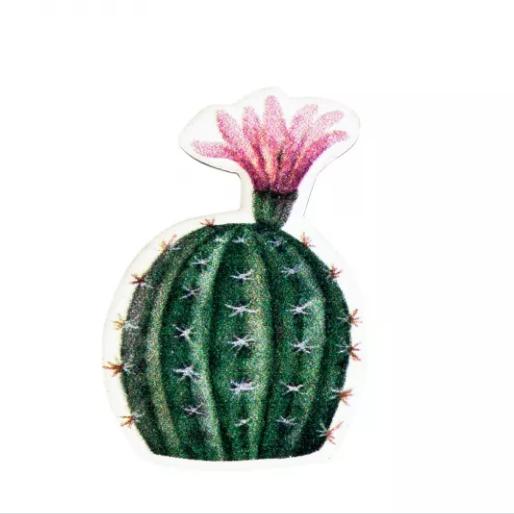 Купить Значок Кактус с цветком , Kawaii Factory, Китай