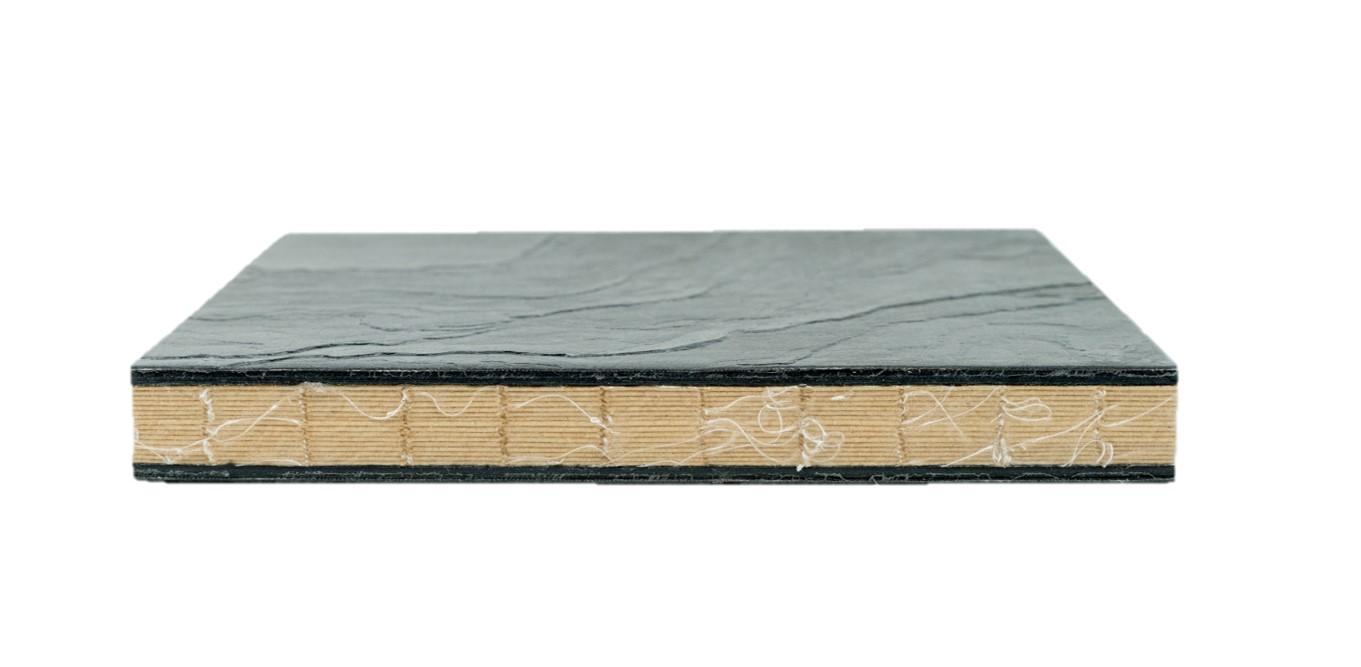 Альбом для зарисовок Smiltainis Stonebook 19, 5х19, 5 см 32 л 250 г, обложка камень, Литва  - купить со скидкой