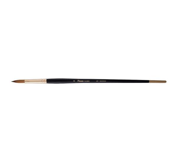Кисть колонок №5 круглая Pinax Artists Classic длинная ручка, Китай  - купить со скидкой