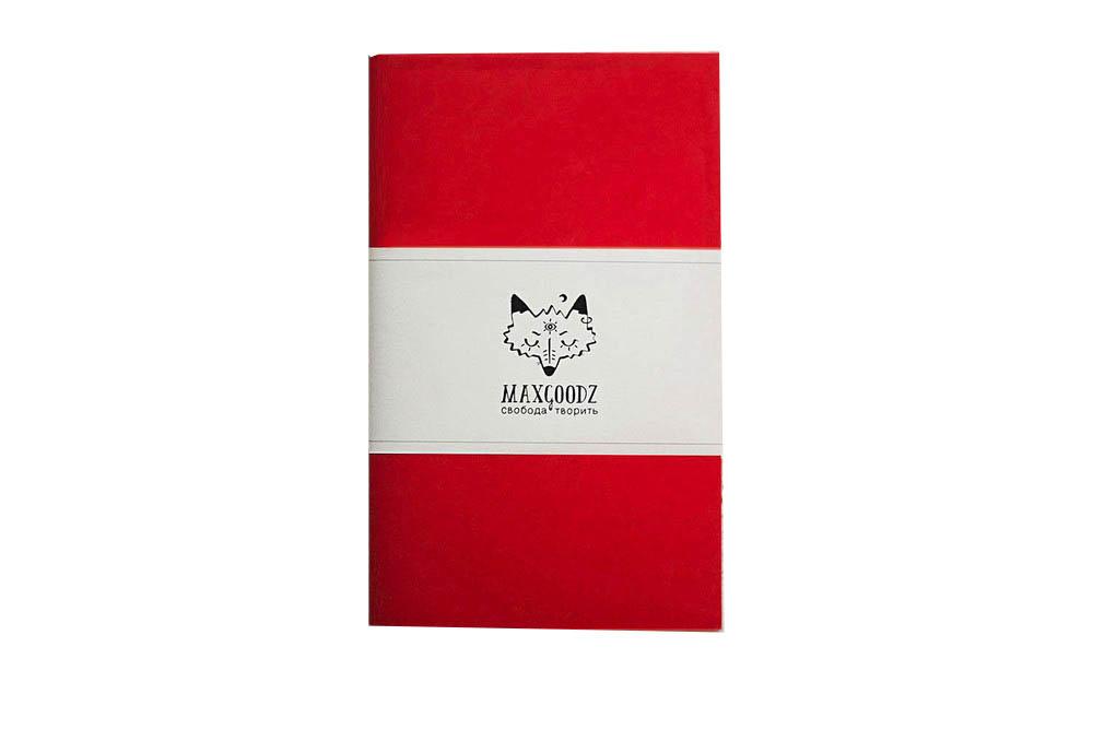 Купить Скетчбук для маркеров Maxgoodz Classic White А5, 32 л, 160 г Алый, Россия