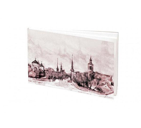 Купить Планшет для акварели Лилия Холдинг Старый Таллин 130*187 мм 20 л 200 г, Россия
