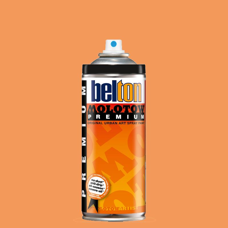 Купить Аэрозольная краска Molotow Premium belton 400 мл #034 apricot, Германия