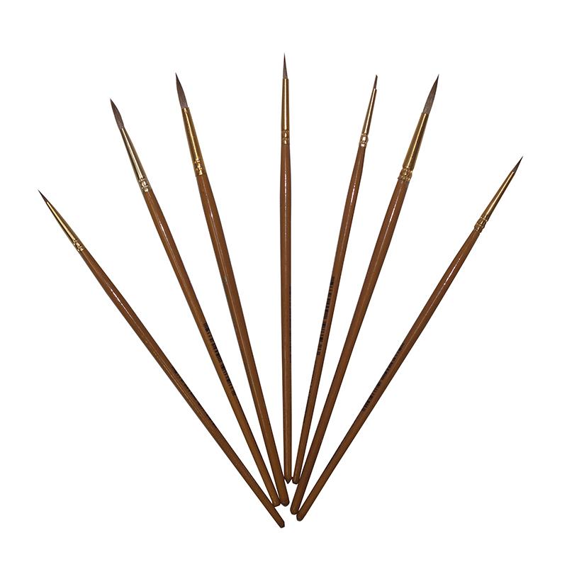 Купить Кисть колонок круглая Pinax Creative короткая ручка, Китай