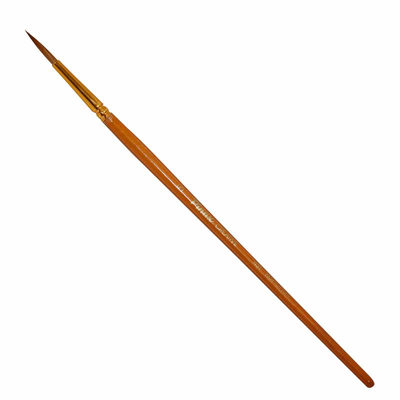 Купить Кисть колонок №5 круглая Pinax Creative 431 короткая ручка, Китай