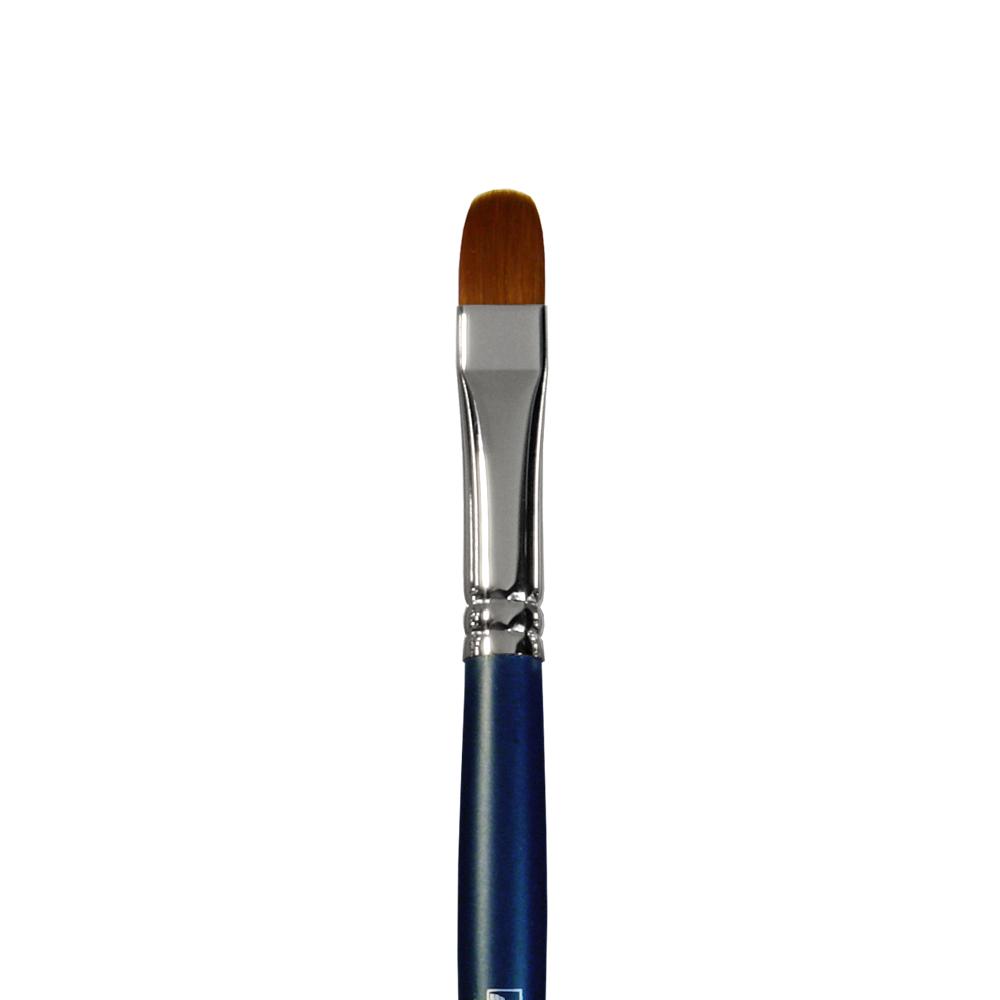 Купить Кисть синтетика №10 овальная Альбатрос Профи длинная ручка, Россия