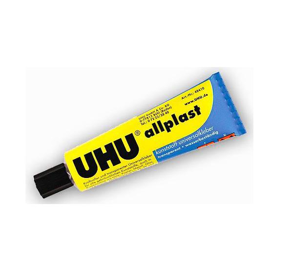 Купить Клей универсальный UHU Allplast 30 г, Германия