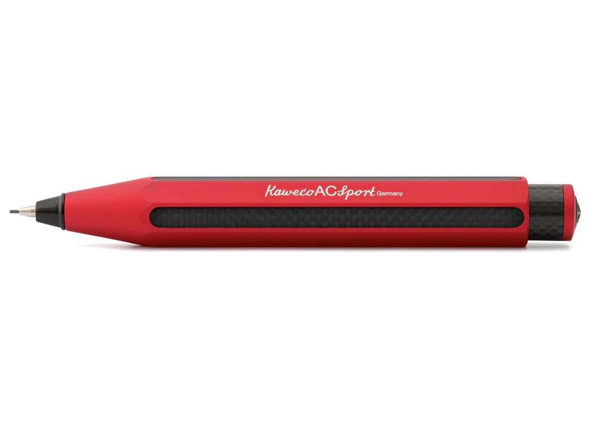 Карандаш механический Kaweco AC Sport 0, 7 мм, корпус красный, Германия  - купить со скидкой
