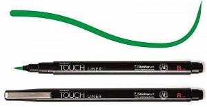 Купить Линер Touch Liner Brush зеленый, ShinHan Art (Touch), Южная Корея