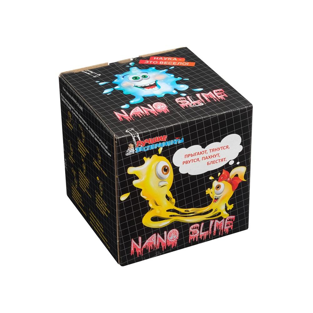 Набор для изготовления лизуна Лучшие эксперименты NANO SLIM , Китай  - купить со скидкой