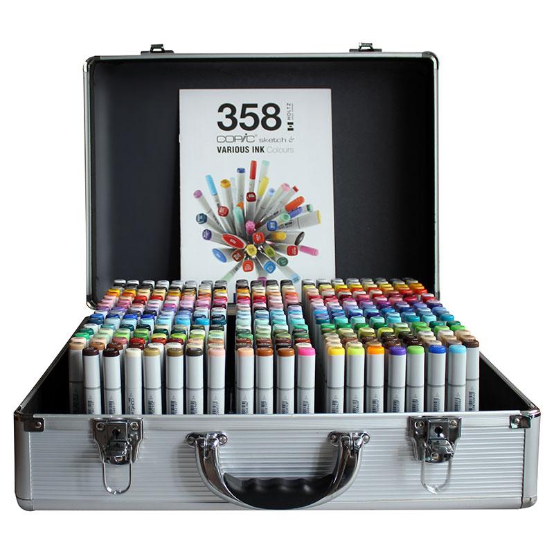 Купить Набор маркеров Copic Sketch 358 цв, в чемодане, Copic Too (Izumiya Co Inc), Япония