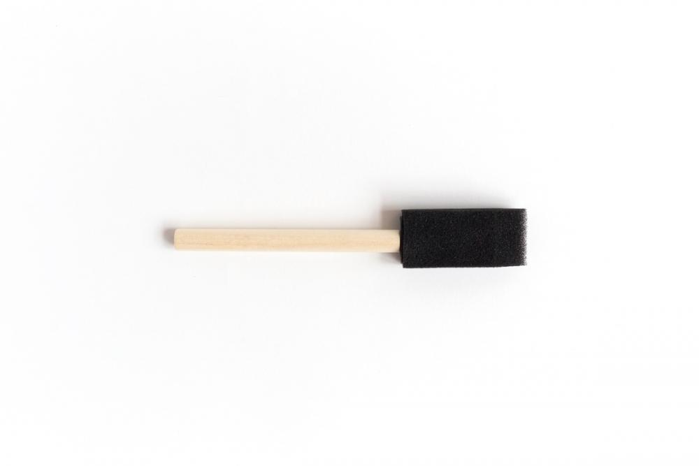 Купить Кисть-губка поролоновая плоская Малевичъ 25 мм, Китай