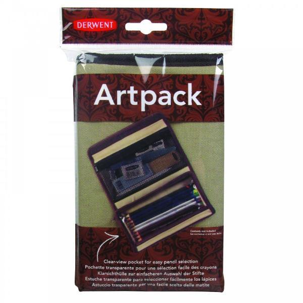 Купить Пенал для карандашей Derwent холщевый Artpack