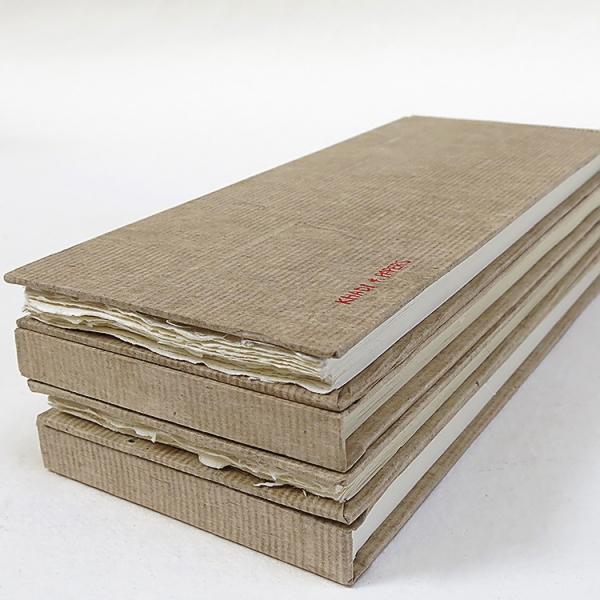Купить Альбом для акварели KHADI PAPERS 13х32 см 32 л 210 г 100% хлопок, крупнозернистая, твердая обложка, Индия