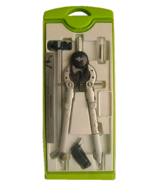 Купить Готовальня Domingo Ferrer Tecnica 6 предметов, Испания