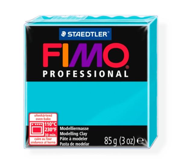 """Пластика для запекания Staedtler """"Fimo Professional"""" 85 г бирюзовая"""